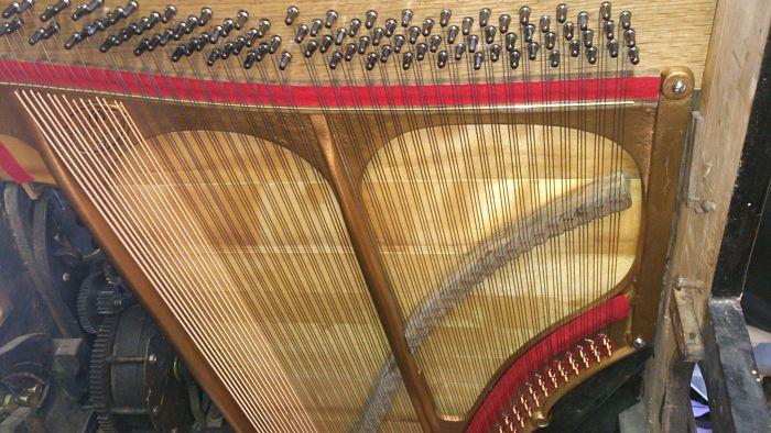 Structure harmonique refaite à neuf.